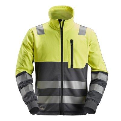 Snickers Workwear Micro Fleece Sweater High Visibility, Klasse 3