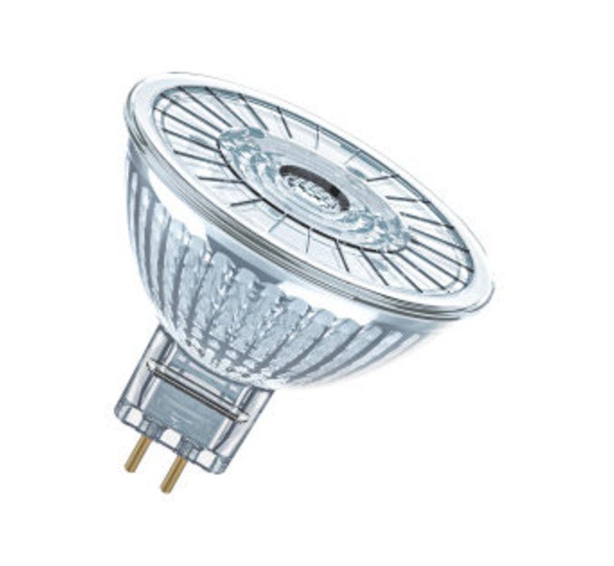 LED Superstar 12v MR16 GU5.3 5w=35w 36gr 350lm 2700k dimbaar
