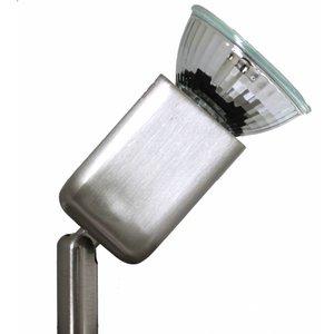 Basic Single lamp 230v GU10 50w Nickel