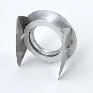 R&M Line Downlight Fix blade round 12v-230v aluminium