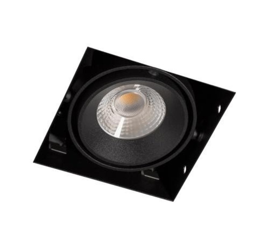 Square Trimless LED downlight 8 watt 2700k warm-white dimmable