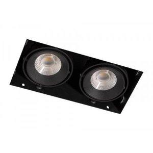 R&M Line Square Trimless duoLED Downlight 2x8 watt