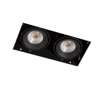 R&M Line Duo Trimless LED downlight black
