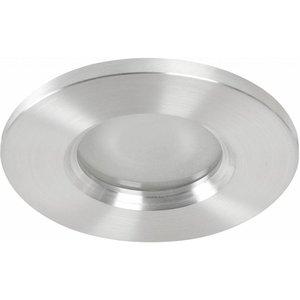 Basic Bathroom downlight Basic flat fix IP54 230v alu