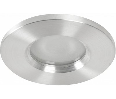 Highlight Badkamer inbouwspot Basic flat fix IP54 230v alu