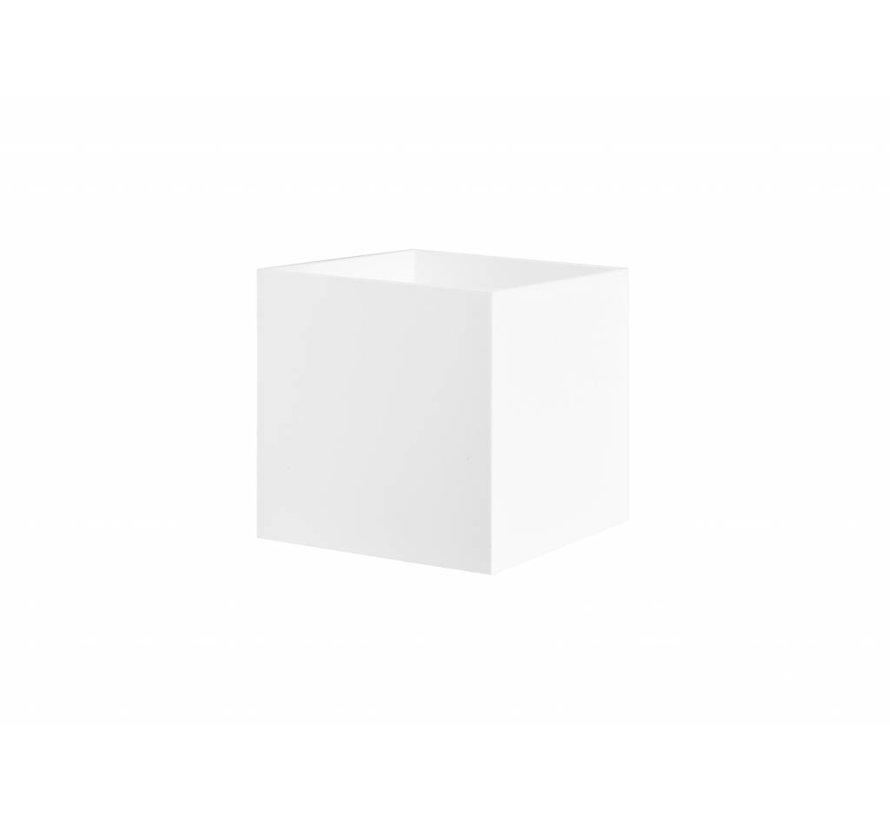 Wandlamp Square wit G9 230v