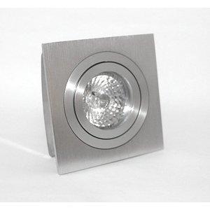 R&M Line Square aluminum recessed downlight 12v/230v