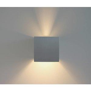 R&M Line Wall lamp Square aluminium G9 230v