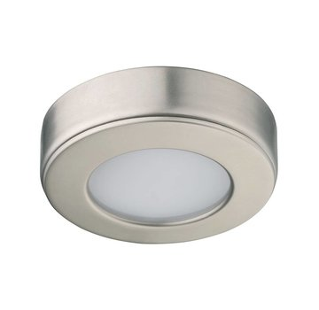 R&M Line Cabinet surface downlight LED satin nickel