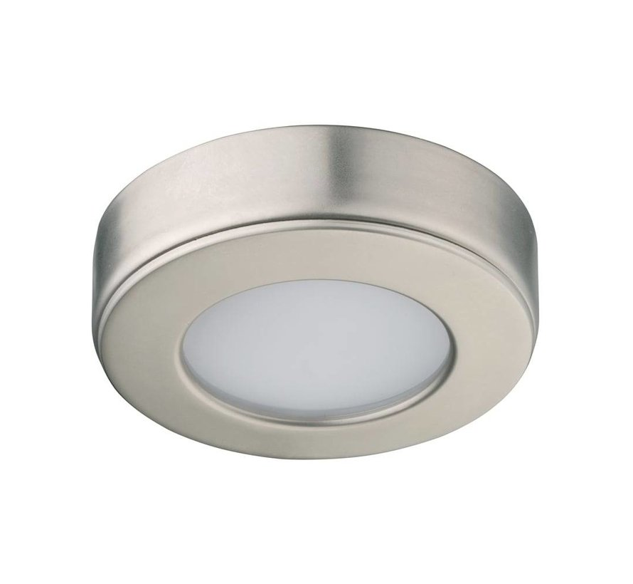 Cabinet surface downlight LED 2.6w 12v DC 2700k warm white