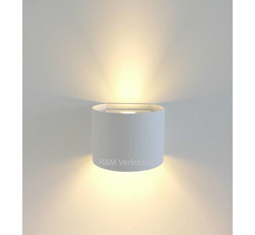 Wandlamp Round wit G9 230v