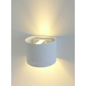 R&M Line Wall lamp Round white G9 230v