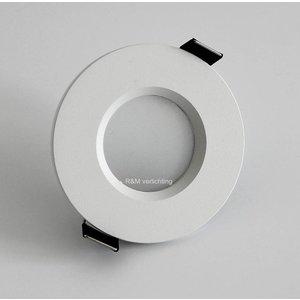 Basic Bathroom downlight Basic flat fix IP54 230v wit