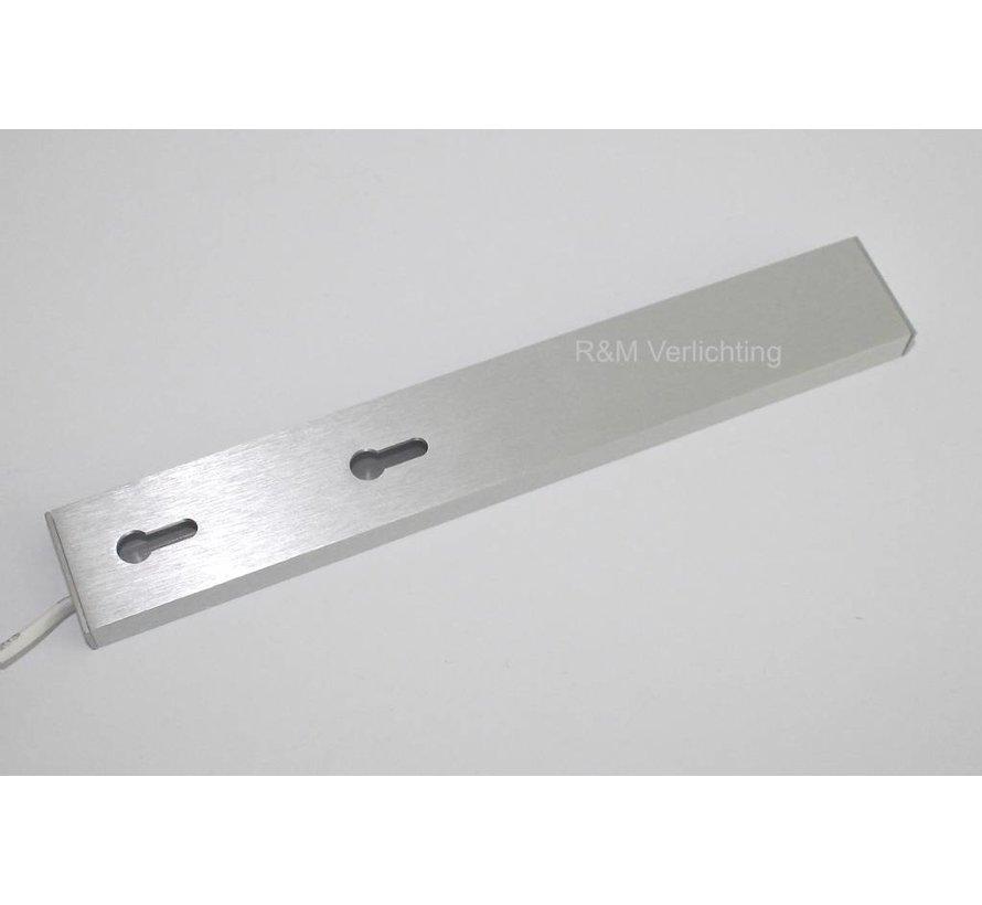 Aluminium Bar LED keuken verlichting SMD 2.6w 12V DC 2700k warm wit
