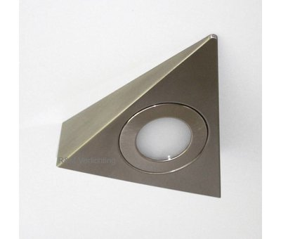 R&M Line Cabinet LED lighting triangle 2.6w 12v DC 2700k warm white