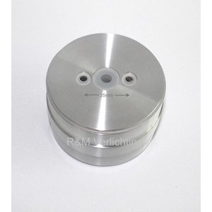 R&M Line Opbouw armatuur IP65 gx53 230v aluminium-mat H:57mm