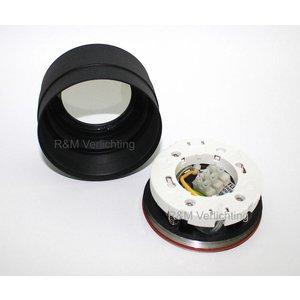 R&M Line LED Bathroom downlight IP65 GX53 230v BLACK