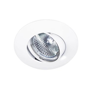 Lupa Recessed downlight Solver 95mm 12V / 230V tilting white