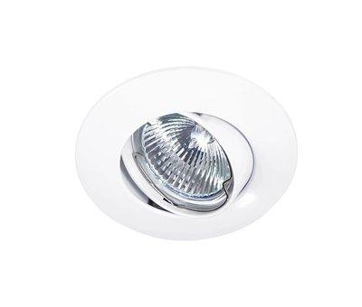 Lumi Parts Inbouwspot Solver 95mm 12V/230V kantelbaar wit
