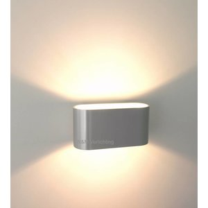 R&M Line Wall lamp Oval aluminium G9 230v