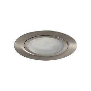 R&M Line Cabinetspot LED Accent Two rond geschuurd 3,15w 350mA
