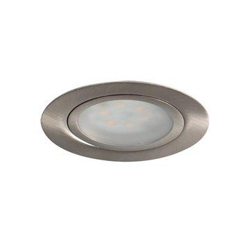 R&M Line Cabinetspot LED round rvs-look