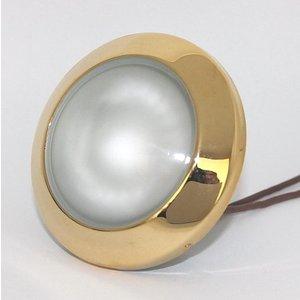 R&M Line Cabinet downlight  Dome 12v max. 20w gold