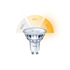 Philips SceneSwitch 3 light settings gu10 5w 2700- 2500- 2200 Kelvin