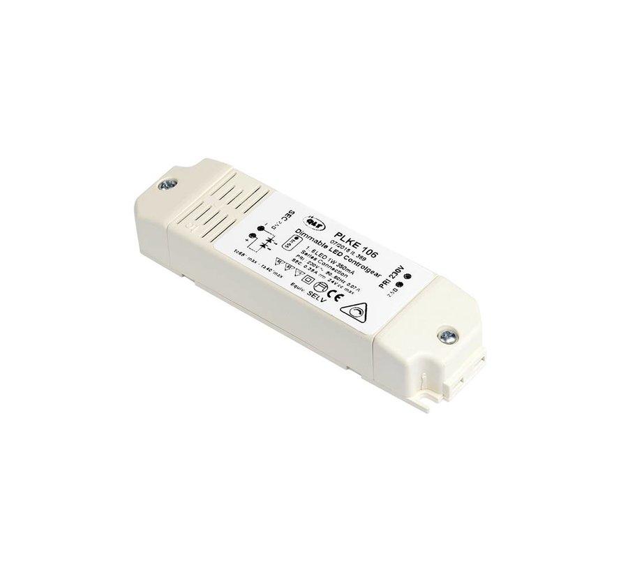 LED Driver CC+CV PLKE3030 700mA 8,4W primair