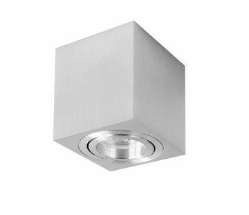 R&M Line Surface-mounted spot Rebel square aluminium
