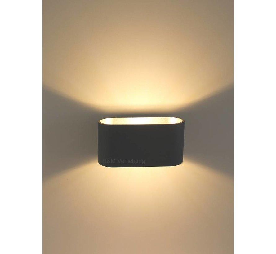 Wall lamp Oval black G9 230v
