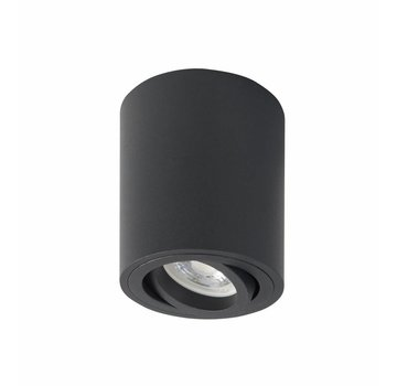 R&M Line Surface-mounted spot Rebel round black