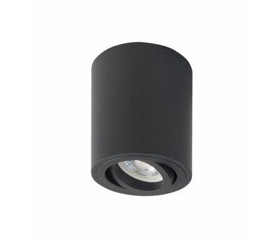 R&M Line Surface-mounted spot round Rebel GU10 black