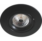 R&M Line LED downlight black 2700k dimmable
