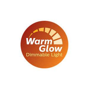 Philips WarmGlow LED  GU10 dim 2200-2700kelvin