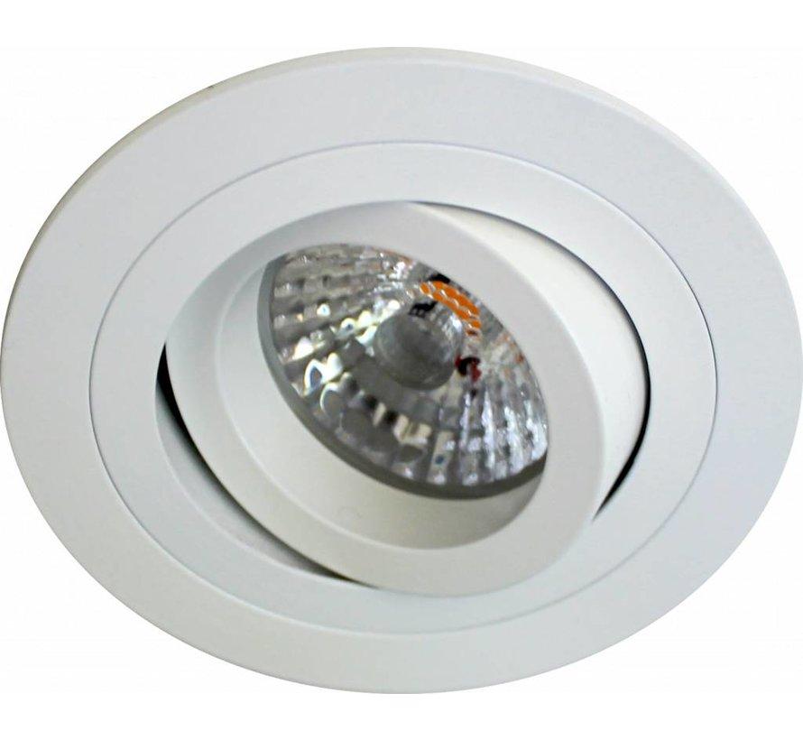LED inbouwspot wit 8 watt  2700k IP65 dimbaar