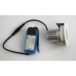 R&M Line LED inbouwspot wit 9 watt  2700k IP65 dimbaar