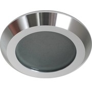 R&M Line Recessed downlight IP65 Steam flat aluminium