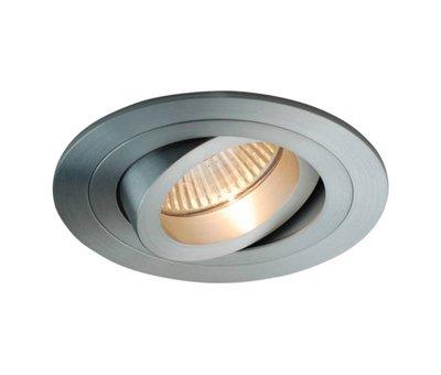R&M Line Recessed downlight round Tilt blade 50 R GU10  alu-mat