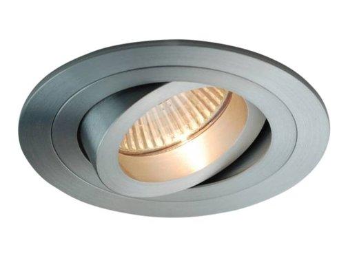 R&M Line Recessed downlight Tilt blade round alu-matt