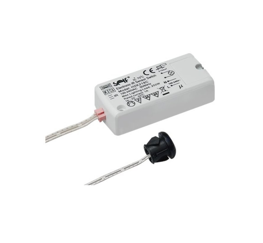 Infrared mini Sensor Switch 250 watt On / Off