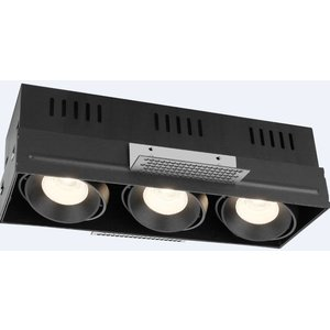 R&M Line Trimless triple  LED inbouw armatuur 3x8 Watt
