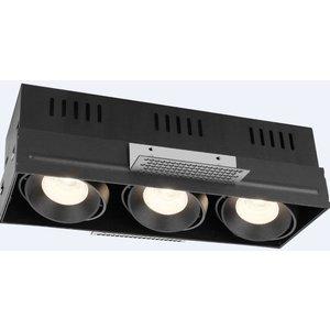 R&M Line Trimless triple LED recessed luminaire 3x8 Watt