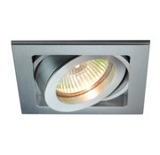 R&M Line Recessed downlight Qubo aluminium GU10