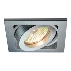 R&M Line Square aluminum recessed spotlight Qubo