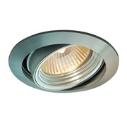 R&M Line Tiltable recessed spotlight Silver Tilt 050