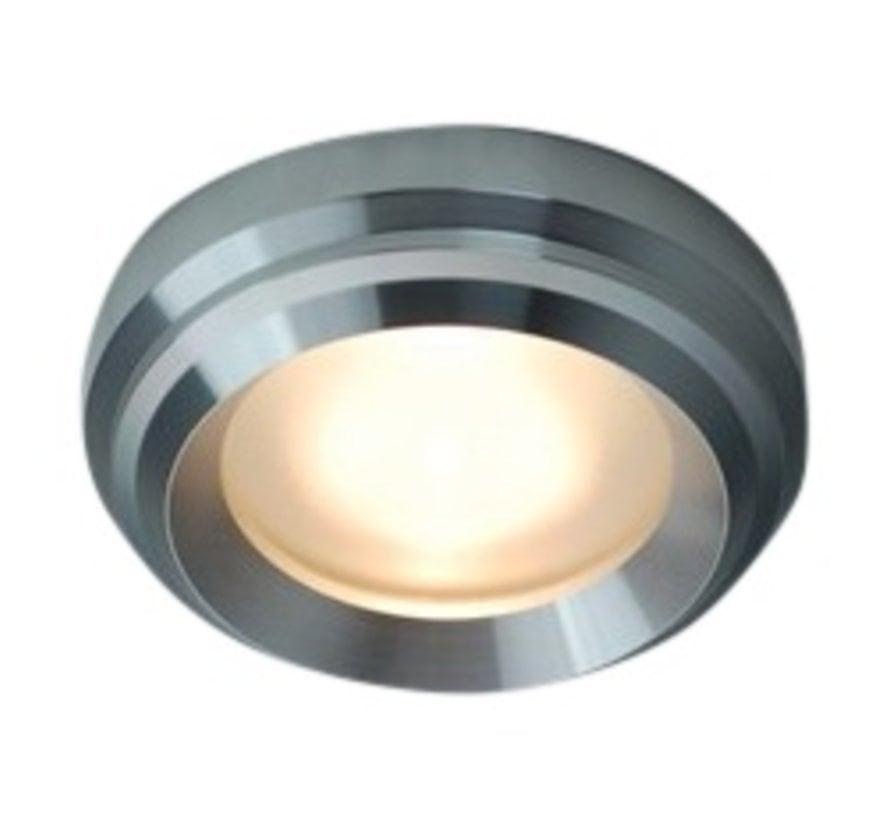 Inbouwspot / badkamerlamp Ministeam IP65 35mm alu-mat kantelbaar