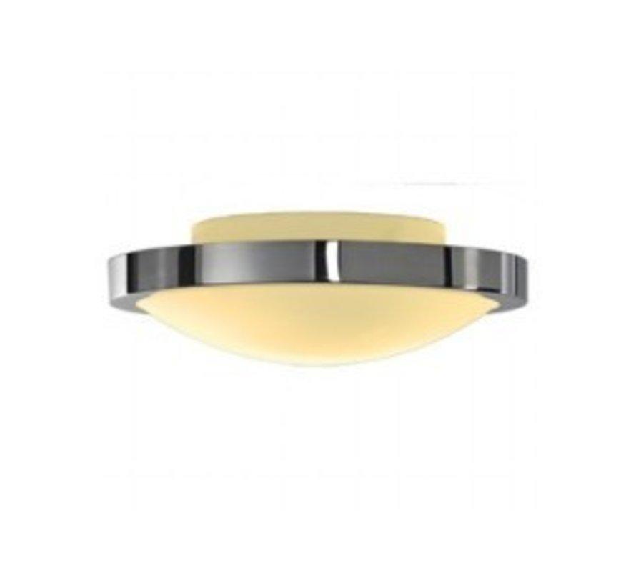 Ceiling lamp round Corona IP21 230v E27 chrome