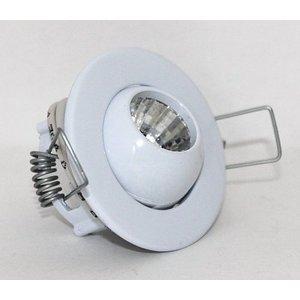 R&M Line Inbouwspot Mini Eye-ball 12v g4 WIT