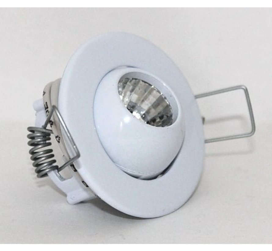 Recessed spotlight Mini Eye-ball 12v g4 white